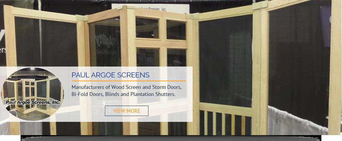 Wood Screen Doors Manufacturer Since 1939 Paul Argoe